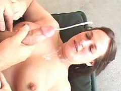 Horny fatty gets cumload in mouth bbw sex
